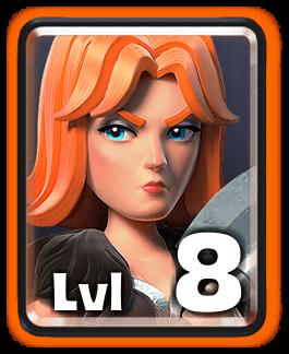 valkyrie Level 8